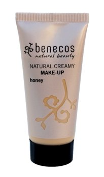 Bio-Lebensmittel online kaufen: 1x benecos Natural Creamy Make-Up honey, 1x 30 ml