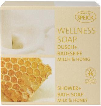 Made by Speick Wellness Soap, Dusch- und Badeseife Milch & Honig