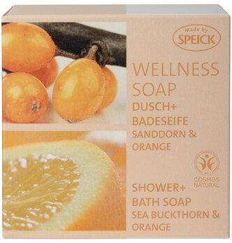 Made by Speick Wellness Soap, Dusch- und Badeseife Sanddorn & Orange
