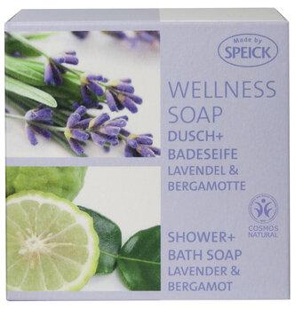 Made by Speick Wellness Soap, Dusch- und Badeseife Lavendel & Bergamotte