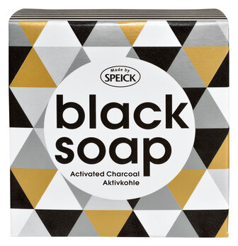 Made by Speick Black Soap, Aktivkohle