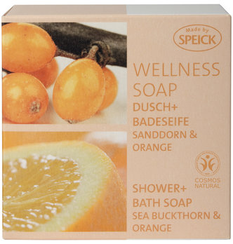 Made by Speick Wellness Soap, Shower and Bath Soap Sea Buckthorn & Orange