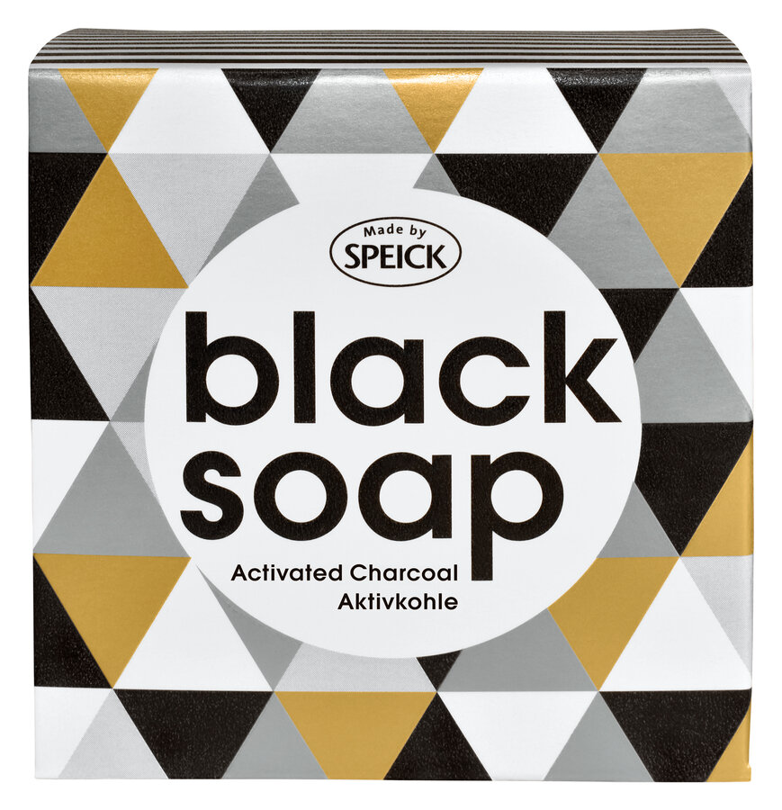 Made by SpeickBlack Soap, Activated charcoal