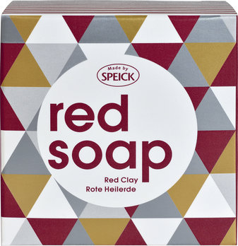 Made by Speick Red Soap, Red Clay