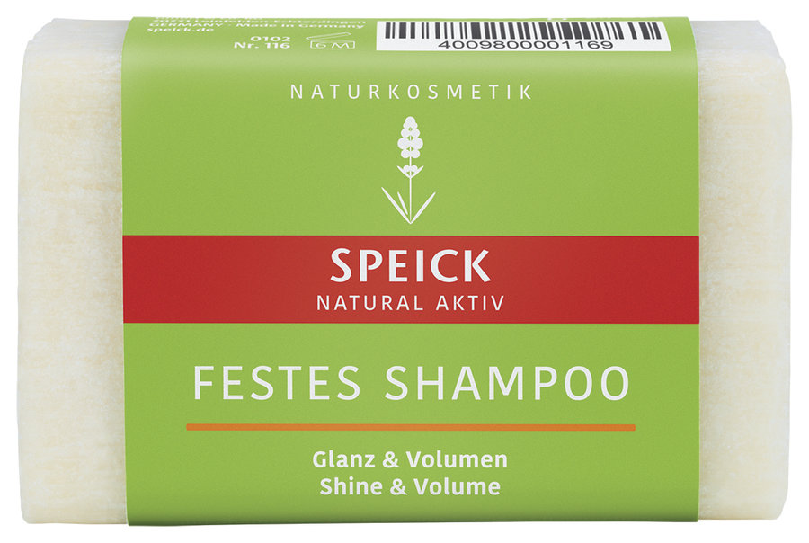 Speick Natural AktivSolid Shampoo Shine & Volume