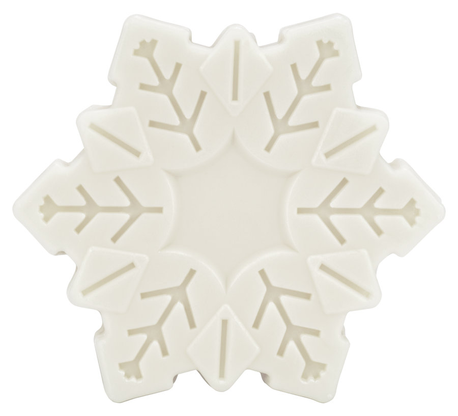 Made by SpeickHappiness is a bar of soap, Plant Oil Soap Snowflake