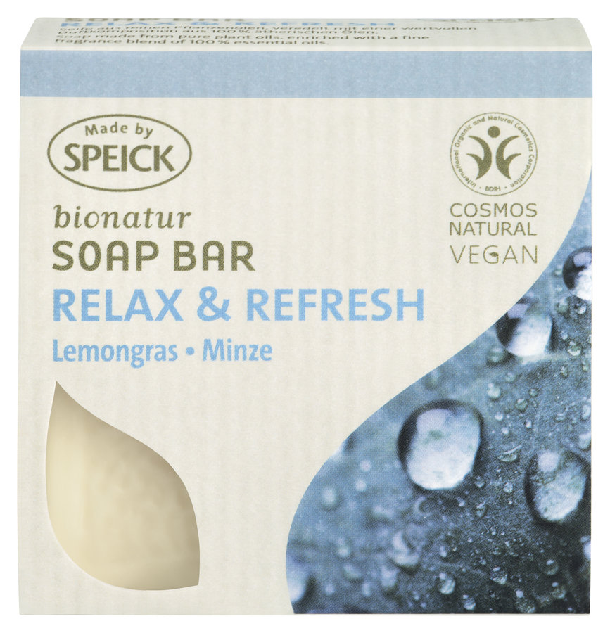 Made by SpeickBionatur Soap Bar Relax & Refresh
