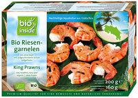 Organic king prawns