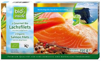 Organic salmon filets