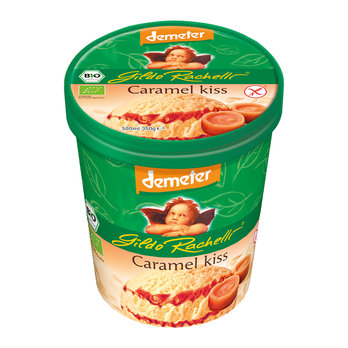 Caramel ice cream family cup