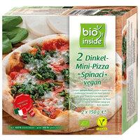 Vegan spelt-mini-pizza ¨spinaci¨