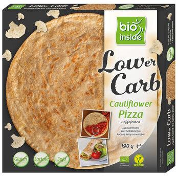 Lower Carb Cauliflower Pizza
