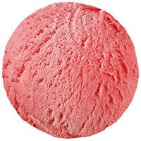 Strawberry sorbet bulk container