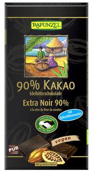 Bitterschokolade 90% Kakao mit Kokosblütenzucker HIH