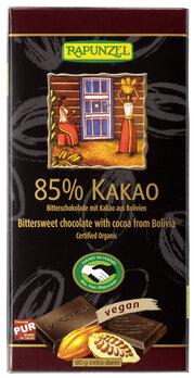 Bitterschokolade 85% Kakao HIH