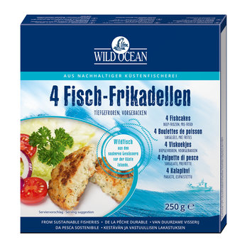 Fisch-Frikadellen