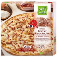 Original Elsässer Flammkuchen mit Speck & Zwiebeln