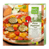 Holzofen-Pizza Peperoni vegan