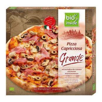 Holzofen-Pizza Capricciosa Grande