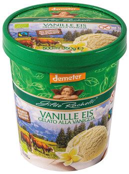 Vanille Eis Heumilch Familienbecher