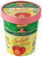 Erdbeer Sorbet Familienbecher 350g