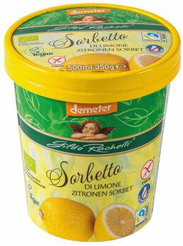 Zitronen Sorbet Familienbecher 350g