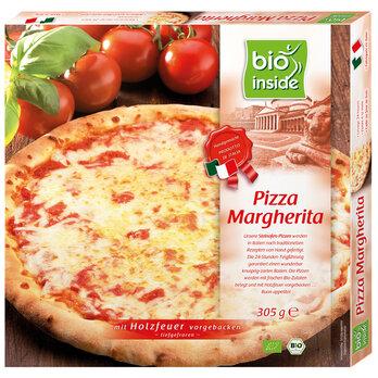 Holzofen-Pizza Margherita