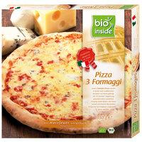 Holzofen-Pizza 3 Formaggi