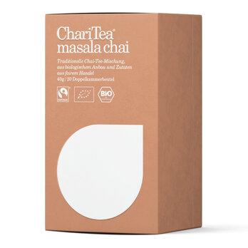 ChariTea masala chai Doppelkammerbeutel 20 x 2g