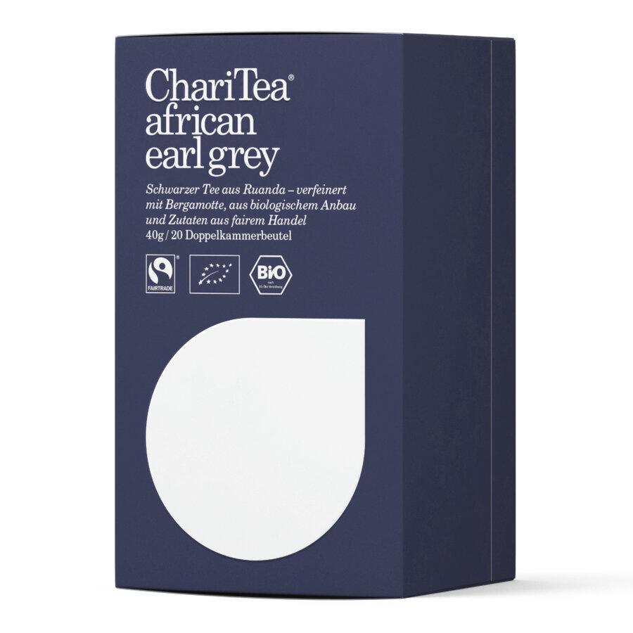 ChariTea african earl grey Doppelkammerbeutel 20 x 2g