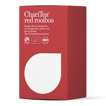 ChariTea red rooibos Doppelkammerbeutel 20 x 2g