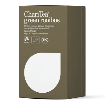 ChariTea green rooibos Doppelkammerbeutel 20 x 2g