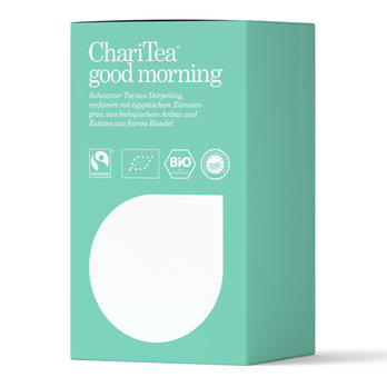 ChariTea good morning Doppelkammerbeutel 20 x 2g