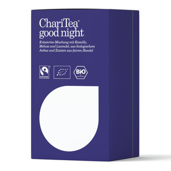 ChariTea good night Doppelkammerbeutel 20 x 2g