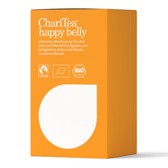 ChariTea happy belly Doppelkammerbeutel 20 x 2g