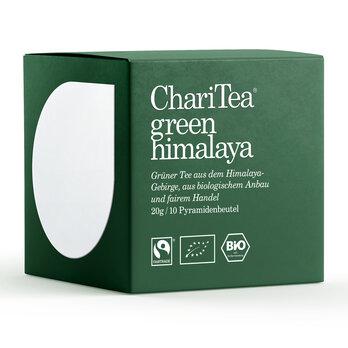 ChariTea green himalaya Pyramidenbeutel 10 x 2g