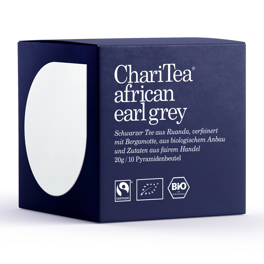 ChariTea african earl grey Pyramidenbeutel 10 x 2g