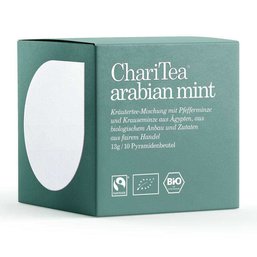 ChariTea arabian mint Pyramidenbeutel 10 x 1,3g