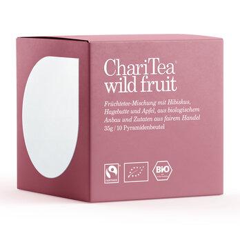 ChariTea wild fruit Pyramidenbeutel 10 x 3,5g