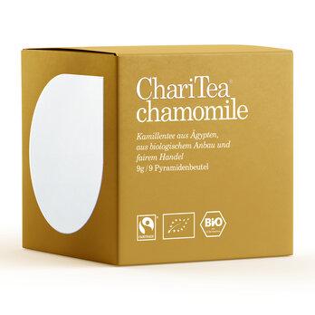 ChariTea chamomile Pyramidenbeutel 9 x 1,5g/A
