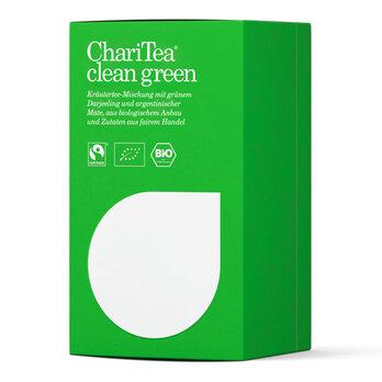 ChariTea clean green Doppelkammerbeutel 20 x 2g