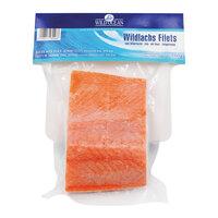 Filet de saumon sauvage avec peau