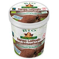 Lactose-free chocolate ice cream family cup